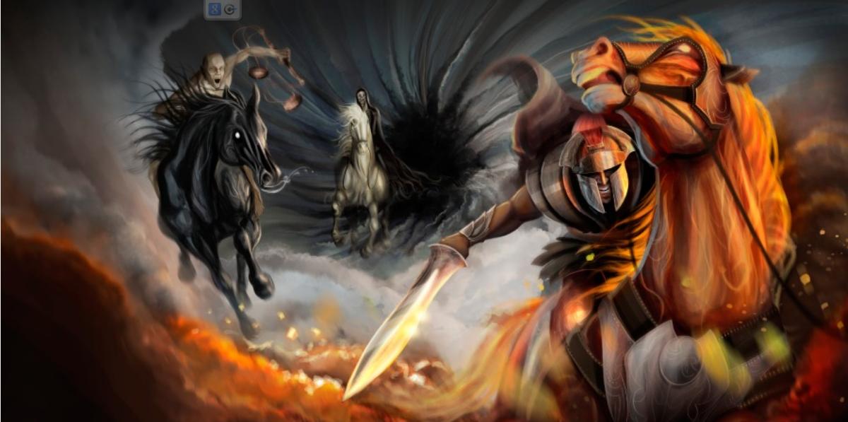 Apokalypsens ryttere, redet ud efter 1914 – jw.org.